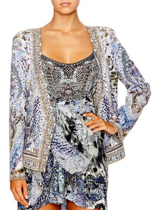 CAMILLA HUSH HUSH Jacket With Tie Back