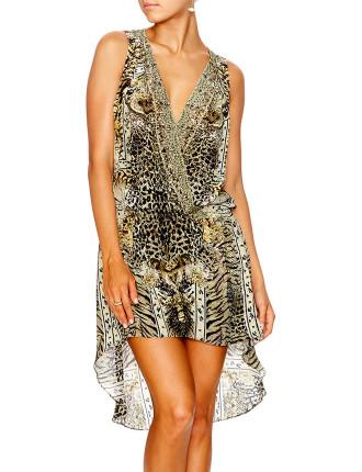 CAMILLA SPIRIT ANIMAL Cross Over Dress