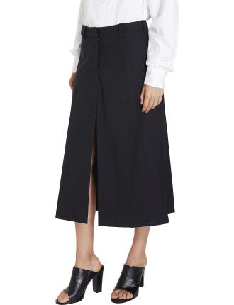 Icon Split Pant Skirt