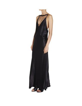 Orb Lace Dune Dress