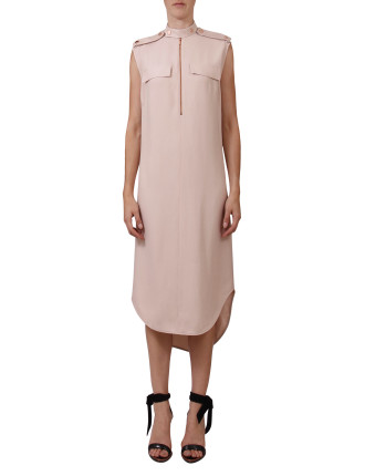 Rendition Shirt Dress