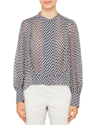 Frances Silk Shirt
