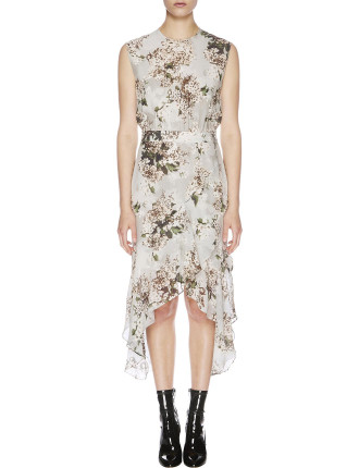 Rosemary Silk Midi Dress