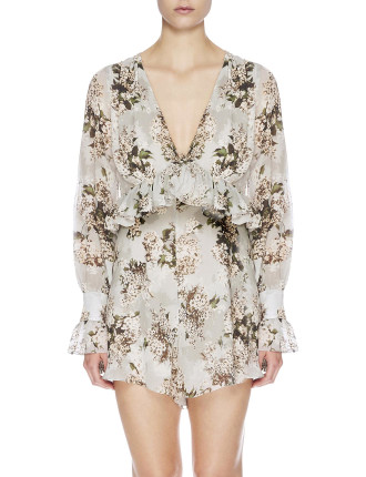 Rosemary Silk Romper