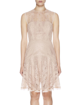 Vine Flip Mini Dress