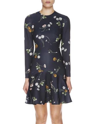 Elderflower Scuba Dress
