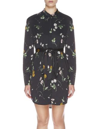 Elderflower Shirt Dress