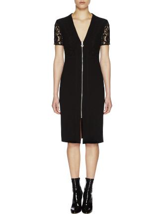 Violet Sheath Dress