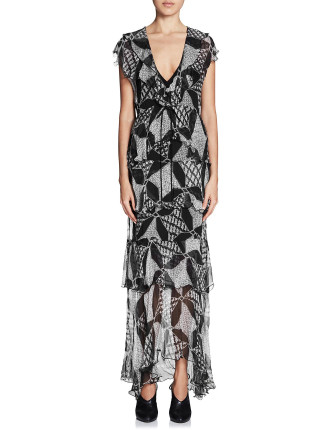 Constellations Maxi Dress