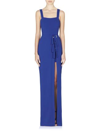 Billie Tie Slit Gown