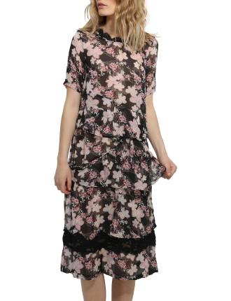 SOFT PETAL DRESS