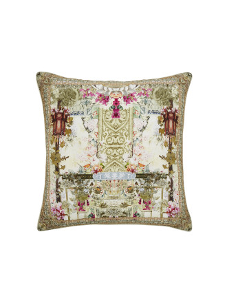 CAMILLA GIRL IN THE GARDEN LARGE SQUARE CUSHION