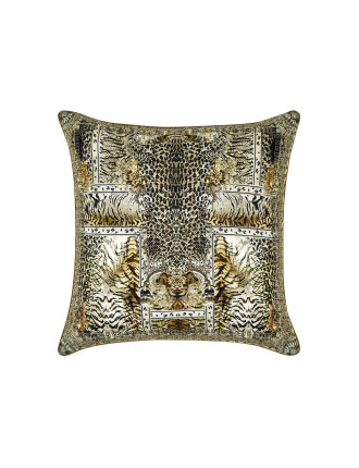 CAMILLA SPIRIT ANIMAL LARGE SQUARE CUSHION