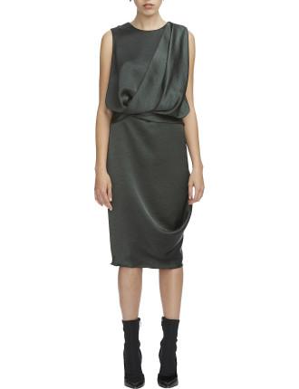 Bowery Drape Dress