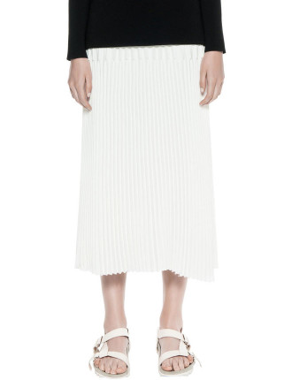 Trapeze Pleat Skirt