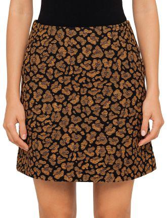 Babou Leopard Print Skirt