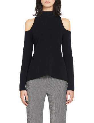 Lindevall Cut Out Shoulder Top