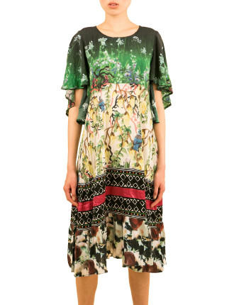 Picture Perfect Print Dress