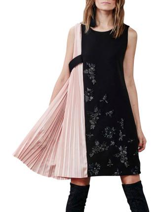 Panel Pleater Dress