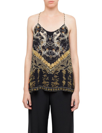 CAMILLA Dynasty Days T Back Shoestring Top