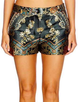CAMILLA Dynasty Days Shorts With Tuck