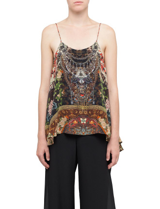 CAMILLA Gathering Dusk Low Back Top