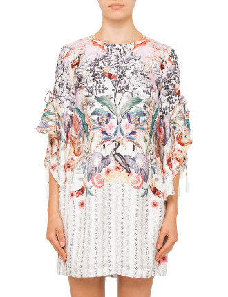 Narnia Print Dress