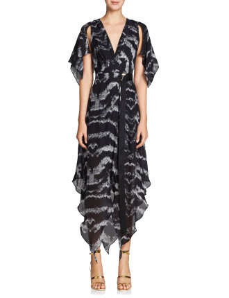 TIGRESS WRAP DRESS