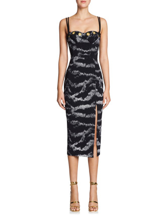 TIGRESS BALCONETTE DRESS