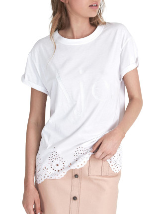 Aje Tee Scalloped