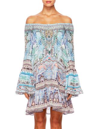 Aline Frill Dress