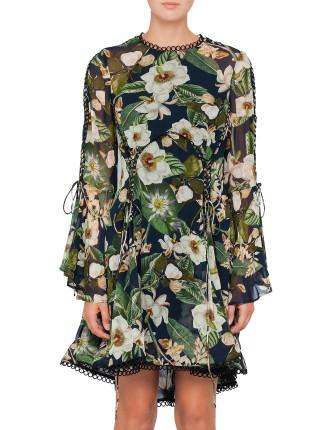 POPPY PARADISE PRINT DRESS