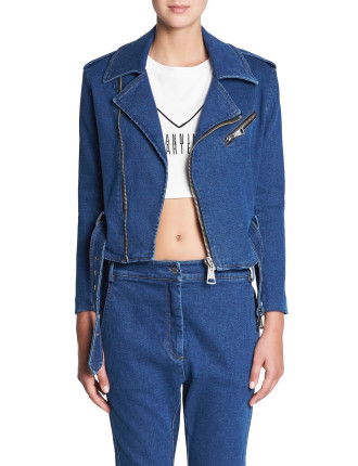 MAJOR KEY DENIM JACKET