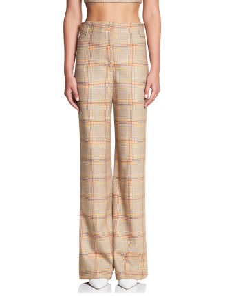 WELL PLAID MANSTYLE PANT