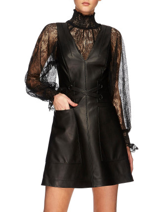 CHESTER LEATHER DRESS