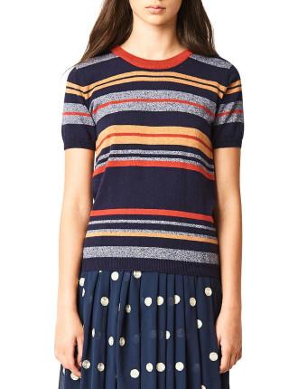 Marley stripe top