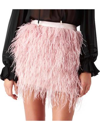 Wattle Feather Skirt