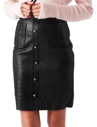 Martin Leather Skirt