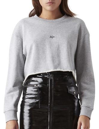 Aje Crop Sweater