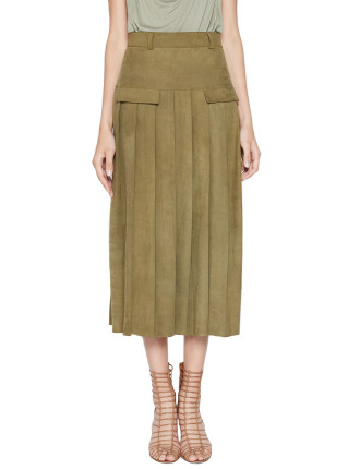 Intuitive Pleat Skirt