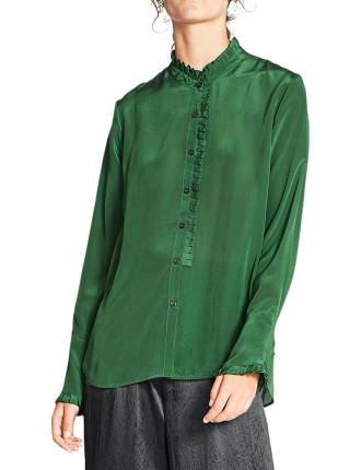 Florian Silk Crepe L/S Shirt