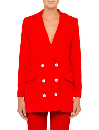 VELVET RED RISING JACKET