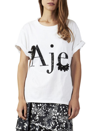 Aje Floral Tee