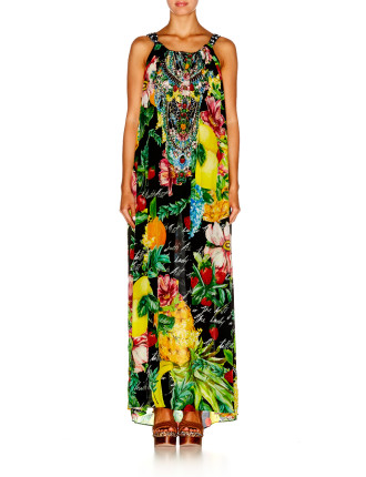 CAMILLA Call Me Carmen Drawstring Dress
