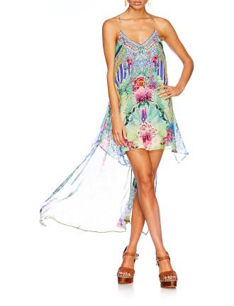 CAMILLA Bahia Bliss Split Front Dress W/ Long Back