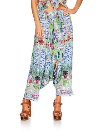 CAMILLA Bahia Bliss Harem Pants W/ Side Split