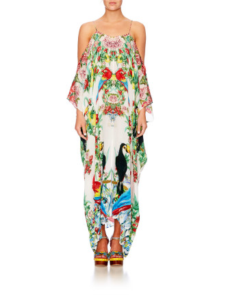 CAMILLA One Flew Over Shoestring Kaftan