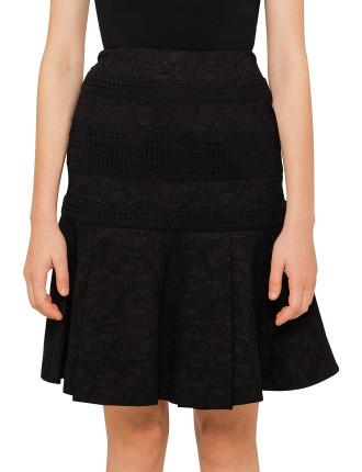 Solitude Pleat Mini Skirt