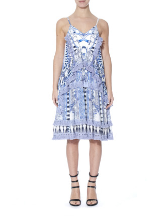 Wedgewood Print Dress