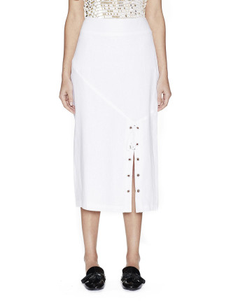 Panelled Pencil Skirt